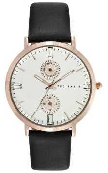 Ted Baker Wopmens Black Strap Silver Dial TE10024713