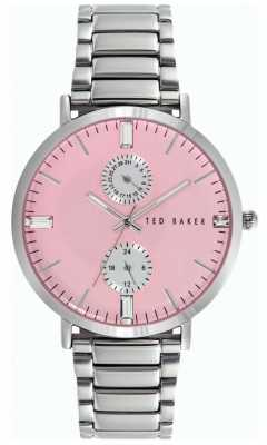Ted Baker Womens Stainless Steel Strap Pink Dial TE10024715