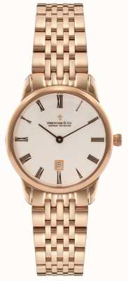 Dreyfuss Womens Rose Gold PVD Plated DLB00138/41