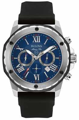 Bulova Marine Star Blue Dial 98B258