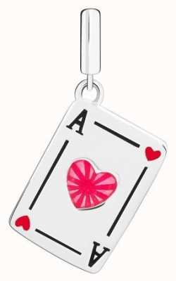 Chamilia Ace Of Hearts Charm 2020-0851