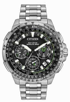 Citizen Promaster Navihawk GPS Stainless Steel CC9030-51E
