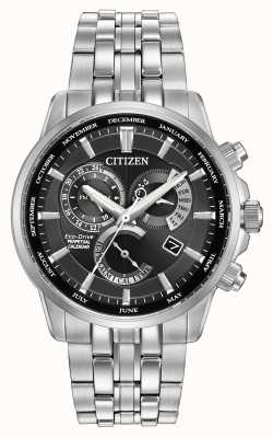 Citizen Gents Calibre 8700 Eco-Drive Stainless Steel BL8140-55E