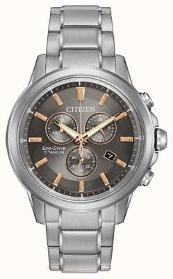 Citizen Eco-Drive Titanium Gents WR100 AT2340-56H