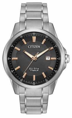 Citizen Gents Eco-Drive Titanium WR100 AW1490-50E