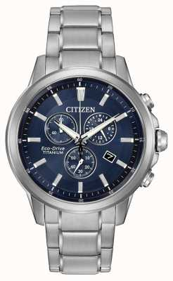 Citizen Eco-Drive Titanium Chronograph AT2340-56L