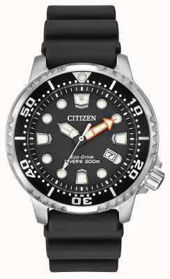 Citizen Eco-Drive Promaster Diver Black Rubber Strap BN0150-28E