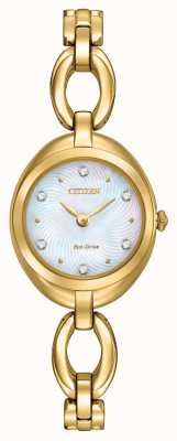Citizen Ladies Eco-Drive Crystal Dial EX1432-51D
