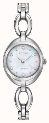 Citizen Womens Eco-Drive Stainless Steel Silhouette EX1430-56D