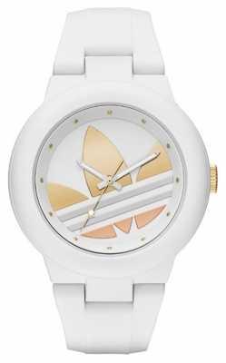 adidas Originals Womens Aberdeen White Silicone Strap ADH9083