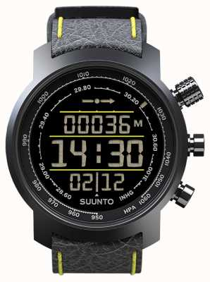 Suunto Elementum Terra Black/Yellow Leather SS019997000