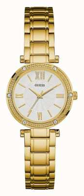Guess Womens Park Ave South Gold PVD Plated W0767L2