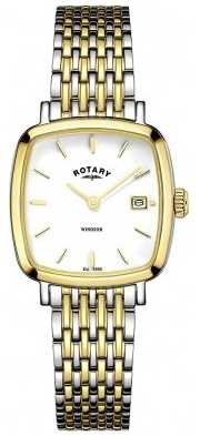 Rotary Womens Two Tone Metal Strap LB05306/01