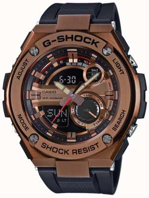 Casio G-Steel G-Shock Gold Plated Case GST-210B-4AER