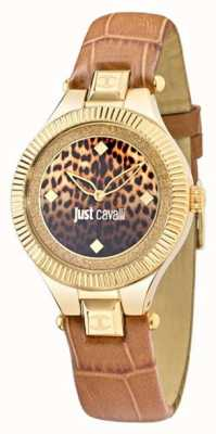 Just Cavalli Just Indie Beige Black Dial 36mm R7251215502