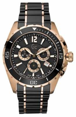 Gc Mens Sport Class XXL Black Ceramic Chrono X76004G2S