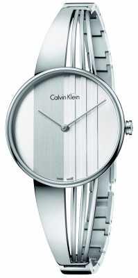 Calvin Klein Womens Drift Silver Dial K6S2N116