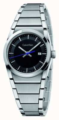 Calvin Klein Mens Step Black Dial K6K31143