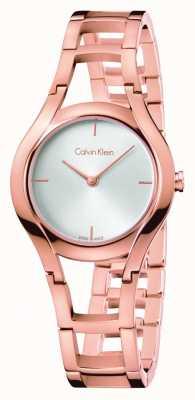 Calvin Klein Womens Class Rose Gold Plated K6R23626