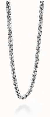 Fred Bennett Stainless Steel Circular Link Chain Necklace N3735