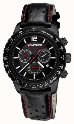 Wenger Mens Roadster Black Night With Chronograph 01.0853.108
