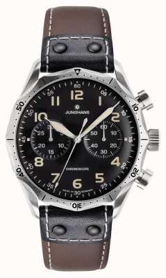 Junghans Mens  Chronograph Automatic Meister Pilot 027/3591.00