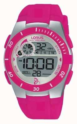 Lorus Novak Foundation Kids Digital Silicone Strap R2383KX9