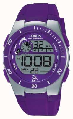 Lorus Novak Foundation Kids Digital Silicone Strap R2381KX9