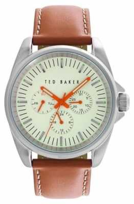 Ted Baker Mens Cream Dial with Date Function TE10025261