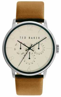 Ted Baker Unisex Cream With Three Hand Movement TE10029569