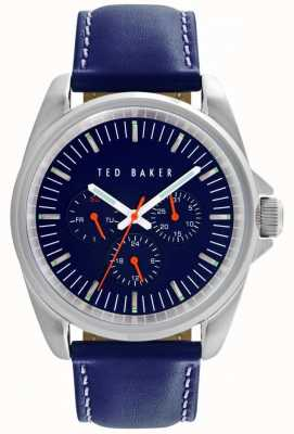 Ted Baker 42mm Ss Blue Dial Mf TE10025259