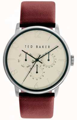 Ted Baker Unisex Day Display Leather Strap TE10029568
