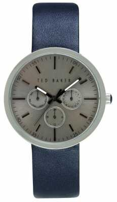Ted Baker Mens 42mm Case With Silver Dial TE10026553