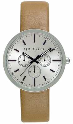 Ted Baker Mens 42mm with Silver Dial TE10026558