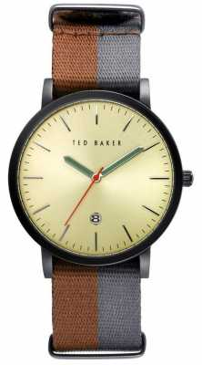Ted Baker Mens 40mm case with Gold Dial TE10026448