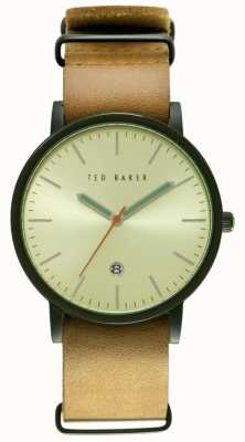 Ted Baker Mens 40mm Black Ion-plated Case TE10026443