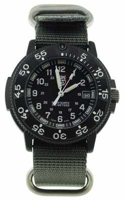 Luminox Original Navy Seal Grey Canvas Strap A.3001.NATO.GRY