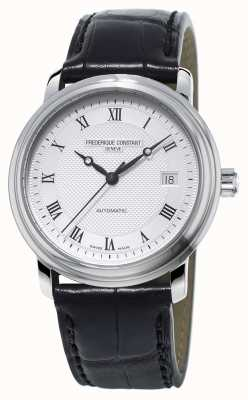 Frederique Constant Classics Mens Automatic Silver Case Leather Strap FC-303MC4P6