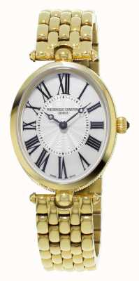 Frederique Constant Classics Art Deco Womens Yellow Gold Plated Mother Of Pearl FC-200MPW2V5B
