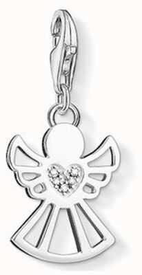 Thomas Sabo Angel Charm White 925 Sterling Silver/ White Diamond DC0029-725-14