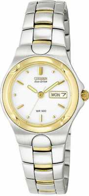 Citizen Womens Corso Two Tone Stainless Steel Case EW3034-59A