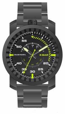 Diesel Mens Rig Gunmetal Bracelet Watch DZ1751