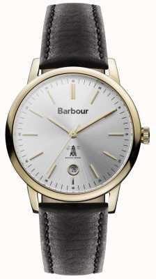 Barbour Seaton Womens Watch Silver Dial BB041SLBK