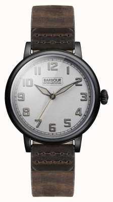 Barbour Hawkins Mens Watch Grey Dial BB042SLBR