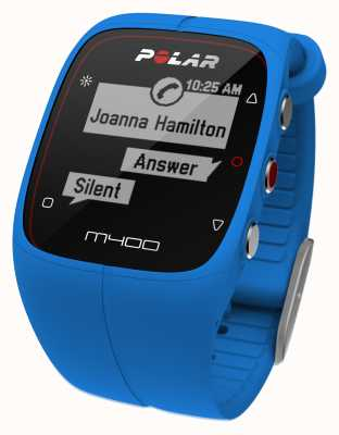 Polar Unisex M400 Bluetooth GPS (Blue) Activity Tracker 90057185