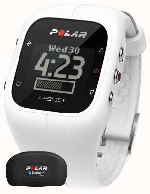 Polar Unisex A300 Activity Tracker (White with HR) 90054235