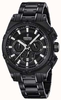 Festina 2016 Chronobike Mens Chronograph Watch Black F16969/1