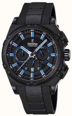 Festina Chronobike 2016 Chronograph Watch Black Rubber F16971/2