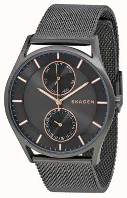 Skagen Mens Holst Gun Metal PVD Plated SKW6180