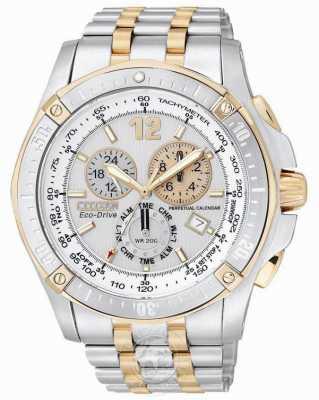 Citizen Perpetual Calendar Chronograph Alarm BL5376-55A